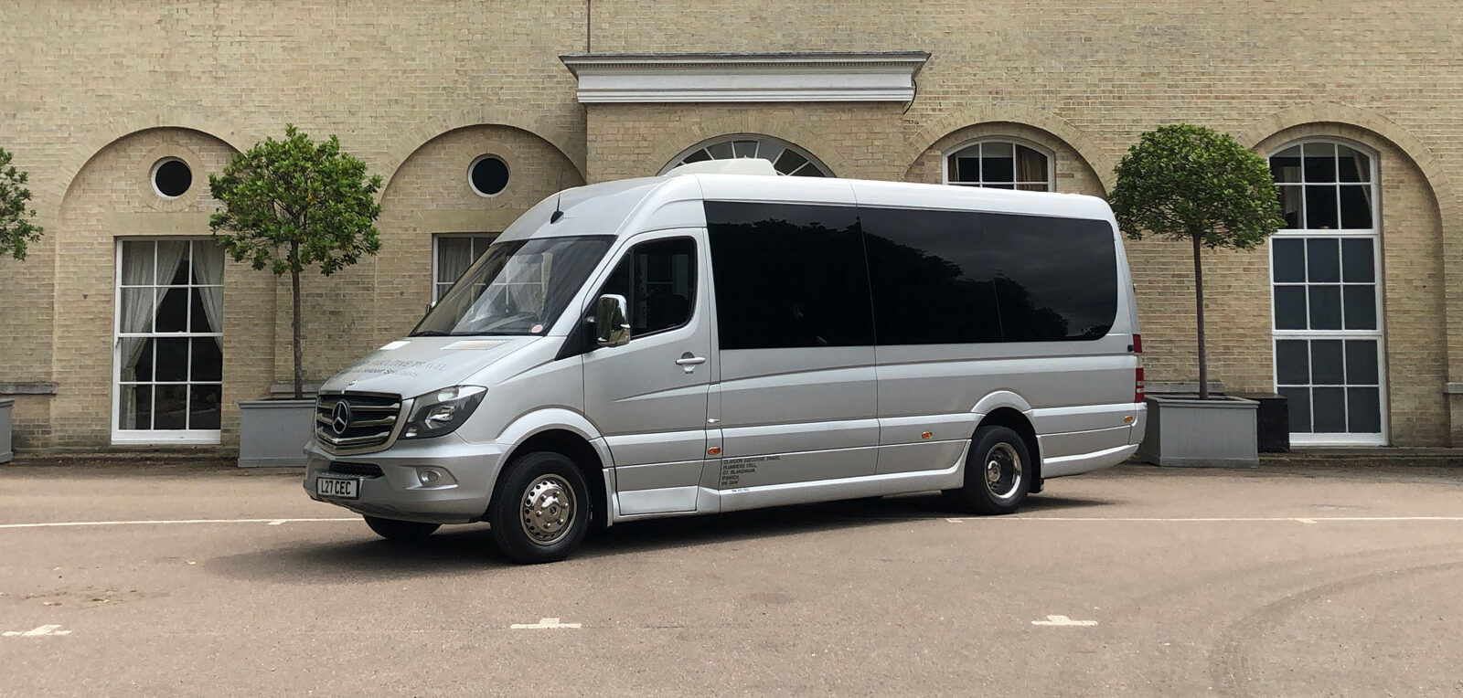 Claydon executive coach seen from the side