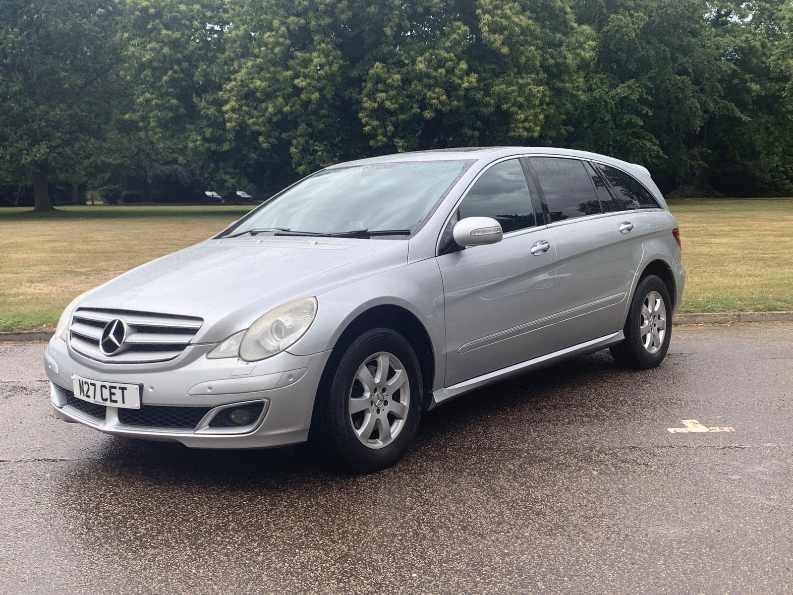 Claydon travel Mercedes car in silver