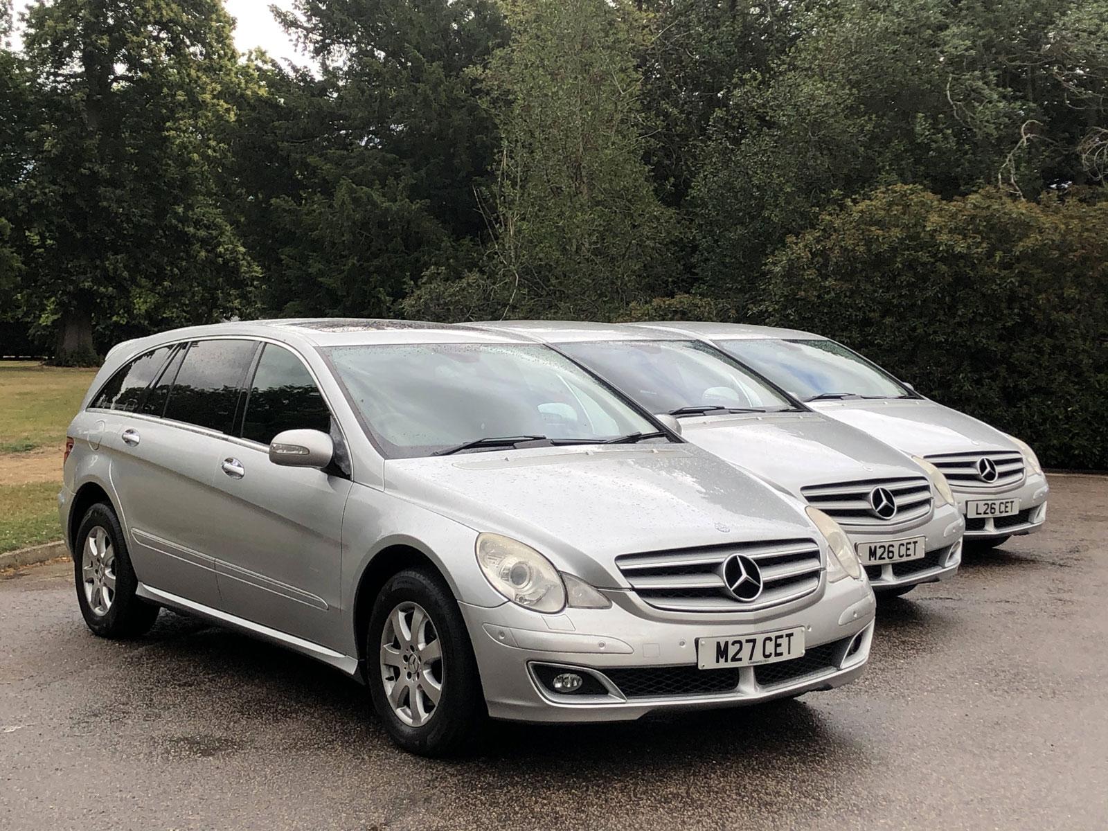 three claydon executive cars in a row